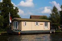 Barco de casa holandés fotos de archivo libres de regalías