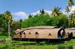 Barco de casa - kerala, India Imagem de Stock