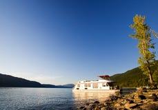 Barco de casa luxuoso Imagem de Stock