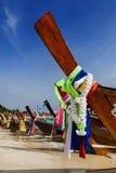 Barco de cauda longa Imagens de Stock