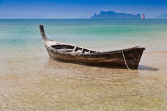 Barco de cauda longa Fotografia de Stock