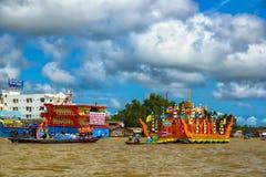Barco de Chak Phra Chak Phra Festival imagens de stock