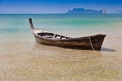 Barco de cola larga fotografía de archivo