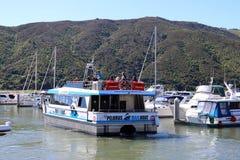 Barco de correo Havelock, región Nueva Zelanda de Marlborough Imagen de archivo libre de regalías
