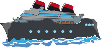 Barco de cruceros libre illustration