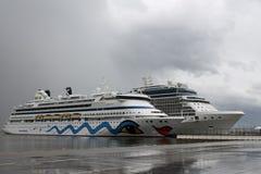 Barco de cruceros Aida Aura Foto de archivo