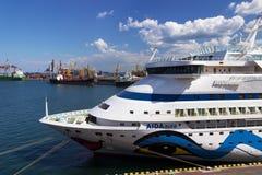 Barco de cruceros Aida Aura Fotos de archivo