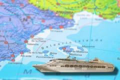 Barco de cruceros Balearic Island imagen de archivo