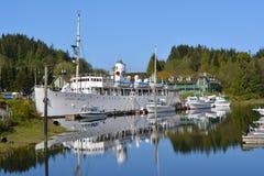 Barco de cruceros canadiense de la princesa Imagenes de archivo