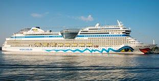 Barco de cruceros de Aida Mar Fotografía de archivo