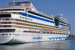 Barco de cruceros de AIDAsol Foto de archivo libre de regalías