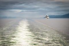 Barco de cruceros de Alaska Imagenes de archivo