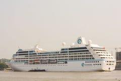 Barco de cruceros de Azamara Imagenes de archivo