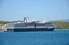 Barco de cruceros de Holland America Line Fotos de archivo libres de regalías