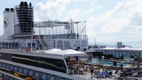Barco de cruceros de Holland America Westerdam en turco magnífico Fotografía de archivo libre de regalías