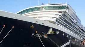 Barco de cruceros de Holland America Westerdam en turco magnífico foto de archivo libre de regalías