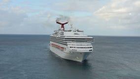 Barco de cruceros de la sol del carnaval almacen de video