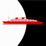 Barco de cruceros de la vendimia Foto de archivo