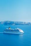 Barco de cruceros de lujo imagenes de archivo