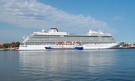 Barco de cruceros de Viking Star Imágenes de archivo libres de regalías