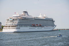 Barco de cruceros de Viking Star Fotos de archivo
