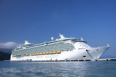 Barco de cruceros del Caribe Fotografía de archivo