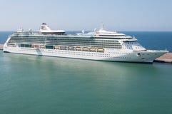 Barco de cruceros del Caribe real Fotos de archivo libres de regalías