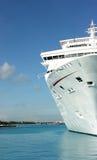 Barco de cruceros del océano Imagen de archivo libre de regalías