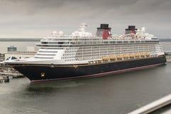 Barco de cruceros del sueño de Disney Imagen de archivo