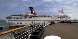 Barco de cruceros Liine del carnaval Imagen de archivo libre de regalías