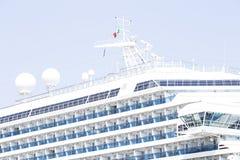 Barco de cruceros de lujo foto de archivo