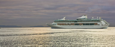 Barco de cruceros Madeira Imagen de archivo libre de regalías