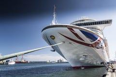 Barco de cruceros Ventura Imagenes de archivo