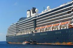 Barco de cruceros Zuiderdam en las Islas Caimán Imagenes de archivo