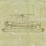 Barco de Egipto stock de ilustración