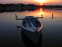 Barco de enfileiramento 1 Foto de Stock