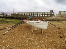 Barco de enfileiramento Imagem de Stock Royalty Free