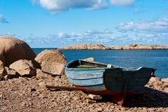 Barco de enfileiramento Fotos de Stock