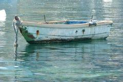 Barco de enfileiramento Foto de Stock