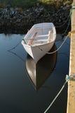 Barco de enfileiramento de madeira Imagem de Stock Royalty Free