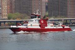 Barco de FDNY Fotos de archivo
