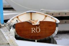 Barco de fila Imagenes de archivo