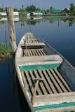 Barco de fila agradable Imagen de archivo libre de regalías