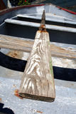Barco de fileira velho Foto de Stock
