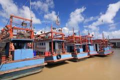 Barco de Fishering Fotos de Stock Royalty Free