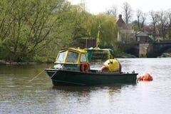 Barco de funcionamiento Imagenes de archivo