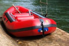 Barco de goma Fotos de archivo libres de regalías