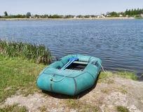 Barco de goma Foto de archivo