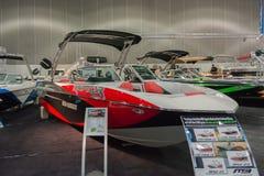 Barco de Indmar B52 23 da ave de rapina na exposição Foto de Stock