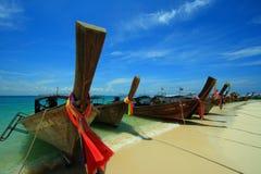 Barco de Krabi Fotografia de Stock Royalty Free
